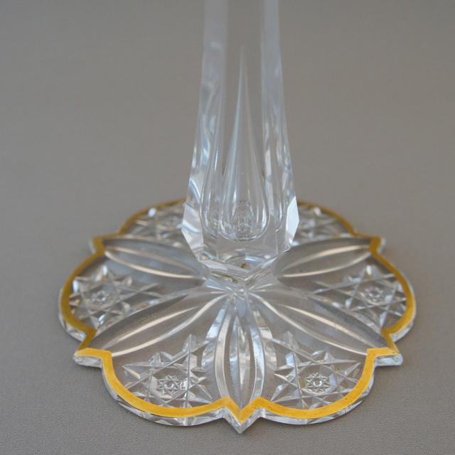 グラスウェア「カット装飾 ワイングラス」