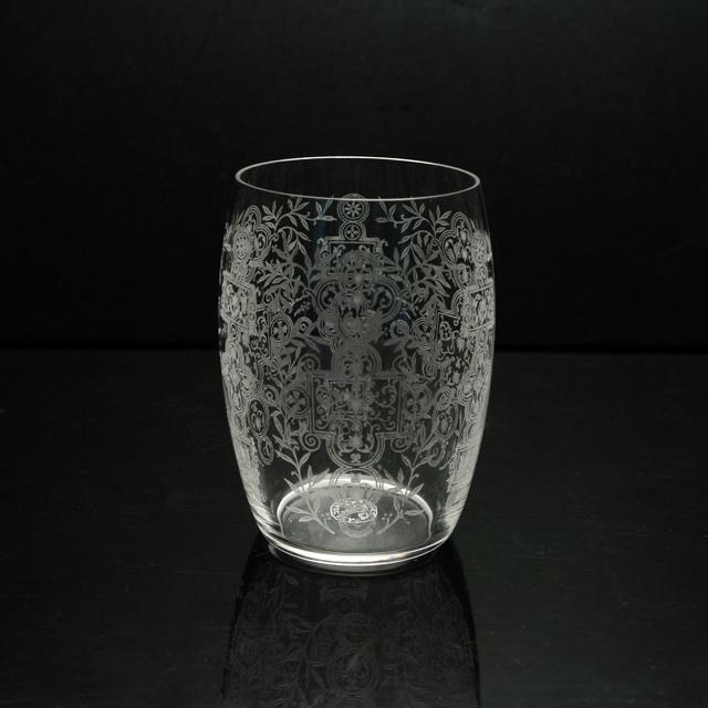 """グラスウェア「タンブラー(中) """"MARION"""" 高さ8cm」"""