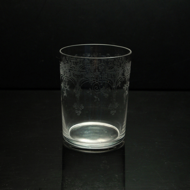 """グラスウェア「タンブラー(中) """"TREFLE"""" 高さ7cm(容量約100ml)」"""