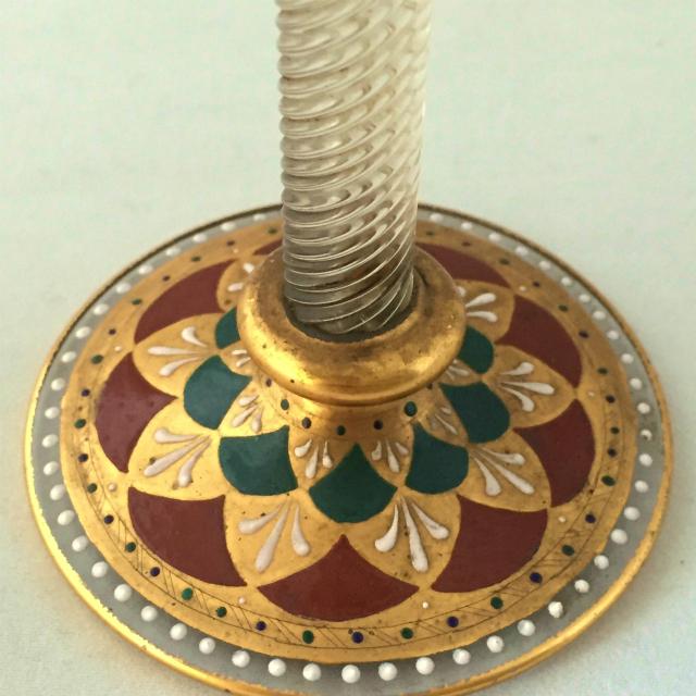 グラスウェア「エナメル装飾 リキュールグラス」