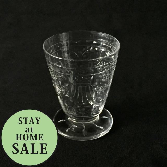 グラスウェア「グラヴィール装飾 ワイングラス 高さ7cm」