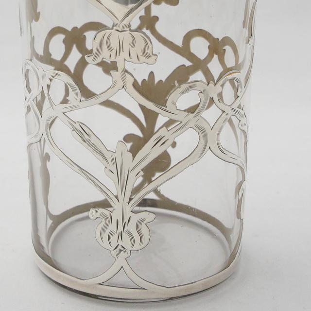 グラスウェア「花文様 タンブラー(ロング)高さ10.2cm」