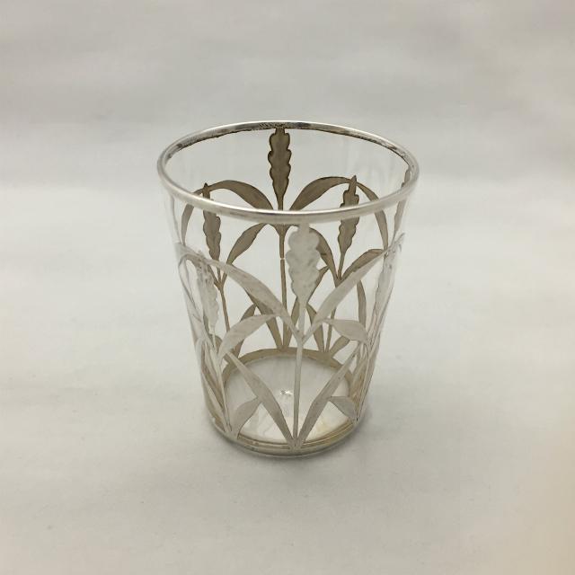 グラスウェア「銀巻き装飾 ゴブレット 高さ6.2cm」
