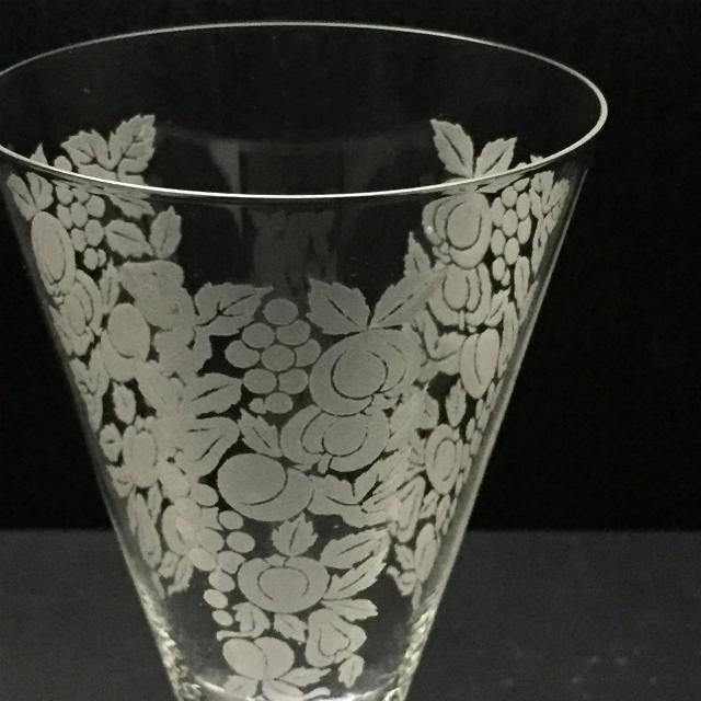 グラスウェア「フルーツ グラス 高さ10cm(容量約90ml)」