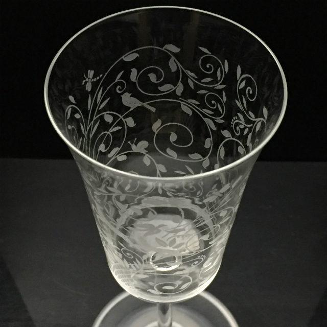 グラスウェア「レイラ グラス 高さ21cm(容量約180ml)」