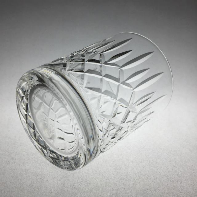 グラスウェア「カット文 ウイスキーグラス(小)高さ7.6cm(容量約120ml)」