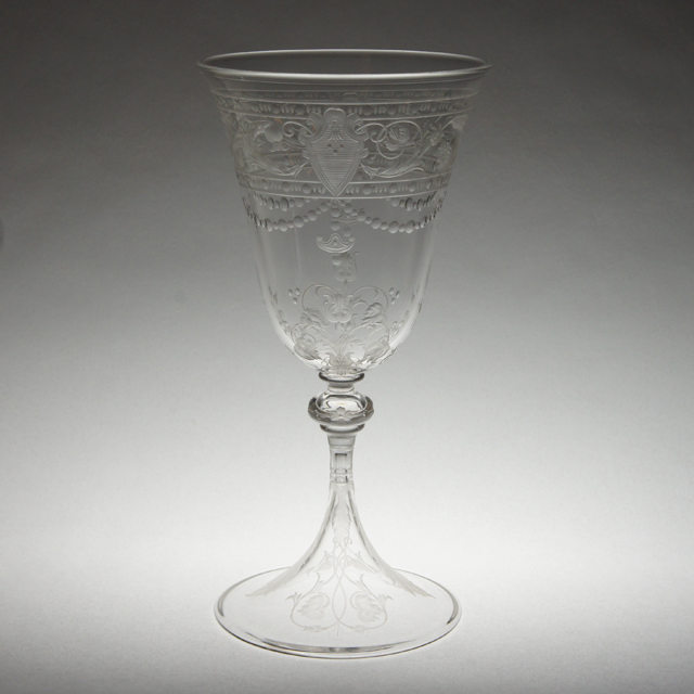 """グラスウェア「""""Model-BEAUNE"""" ワイングラス(大)高さ16.5cm(容量約160ml)」"""
