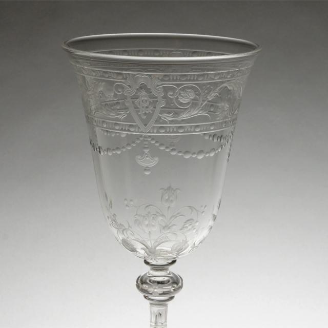 """グラスウェア「""""Model-BEAUNE"""" ワイングラス(中)高さ15cm(容量約120ml)」"""