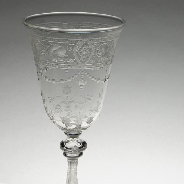 """グラスウェア「""""Model-BEAUNE"""" ワイングラス(小)高さ12.3cm(容量約80ml)」"""