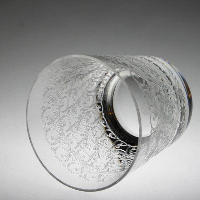 """グラスウェア「ローハン """"Rohan"""" ロックグラス 高さ9.5cm(容量約180ml)」"""