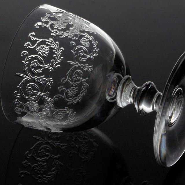 グラスウェア「リース文 リキュールグラス 高さ6cm(容量約20ml)」