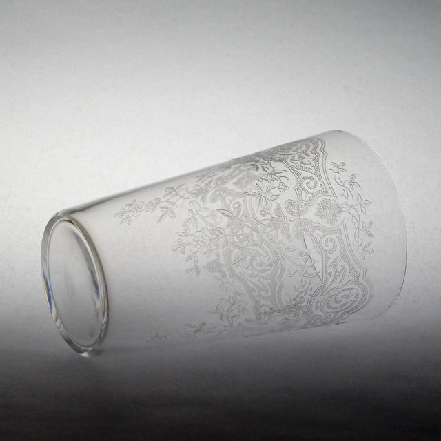 """グラスウェア「メディシス """"Medieis"""" タンブラー(中) 高さ9cm(容量約120ml)」"""