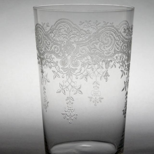 """グラスウェア「メディシス """"Medieis"""" タンブラー(大) 高さ10cm(容量約200ml)」"""