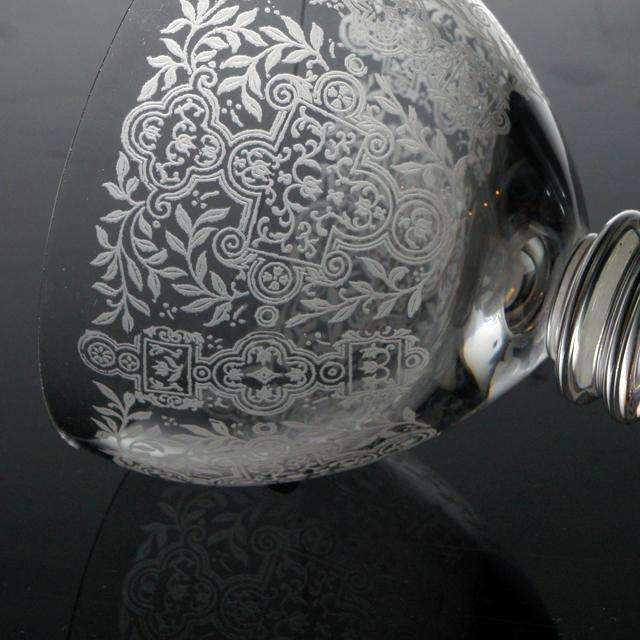 """グラスウェア「マリオン """"Marion"""" グラス(小)高さ7.8cm(容量約90ml)」"""