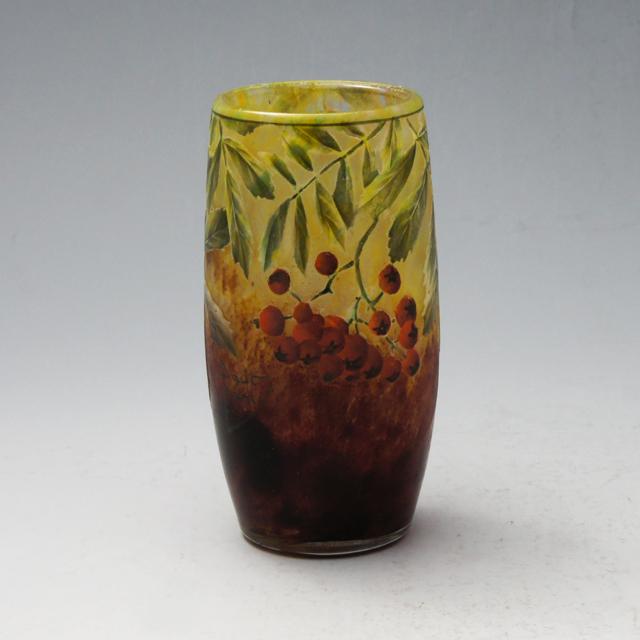 アールヌーヴォー「ナナカマド文 花瓶」