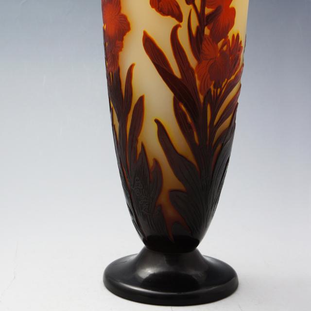 アールヌーヴォー「花文 花瓶」