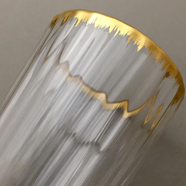 グラスウェア「金彩 ゴブレット 高さ7cm(容量約70ml)」
