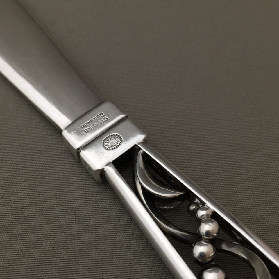 """シルバー「ペーパーナイフ """"Blossom"""" 長さ17.5cm」"""