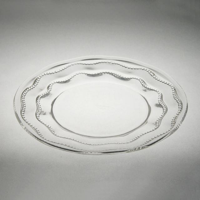 グラスウェア「皿 シャンベルタン 直径18.3cm」