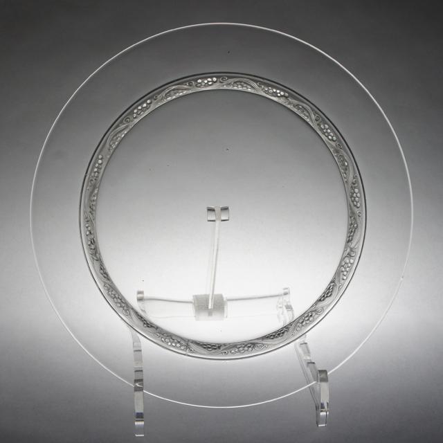グラスウェア「皿 ファルスブルグ 直径21.7cm」