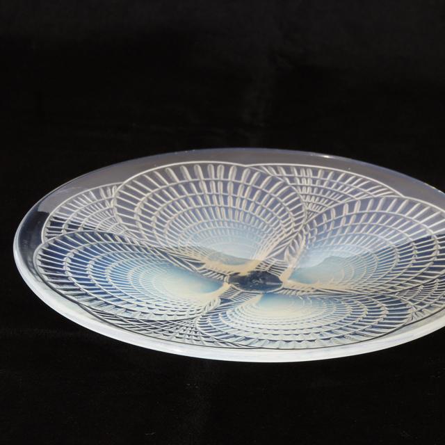 グラスウェア「皿 コキール No.5(オパルセントガラス)直径17cm」
