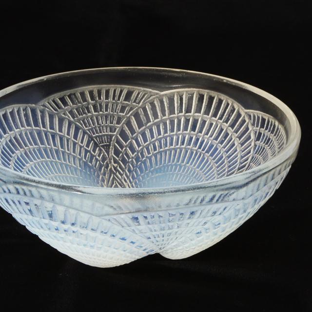 グラスウェア「鉢 コキール No.5(オパルセントガラス)直径13.3cm」