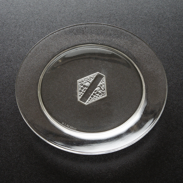 グラスウェア「皿 サヴェーヌ 直径16.2cm」