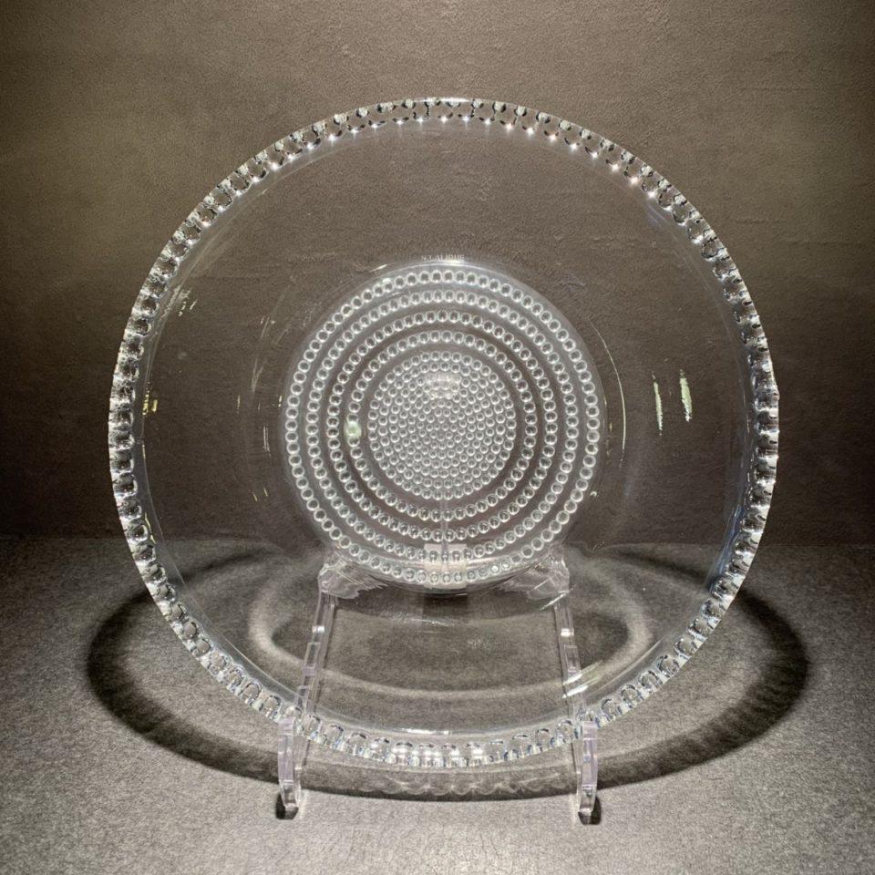 グラスウェア「皿 ニッポン 直径24.5cm」