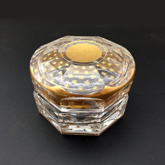 グラスウェア「Baccarat × STYPTANE 蓋物(直径6.5cm)」