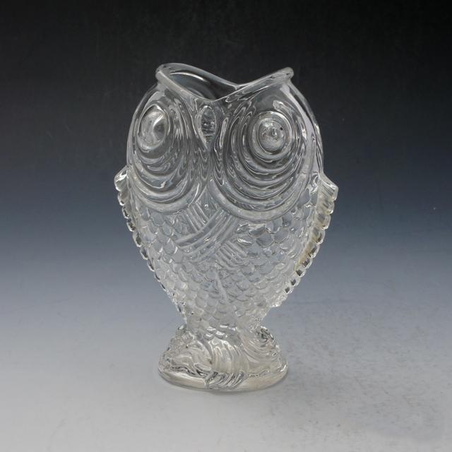 グラスウェア「ジャポニズム 鯉型花瓶」