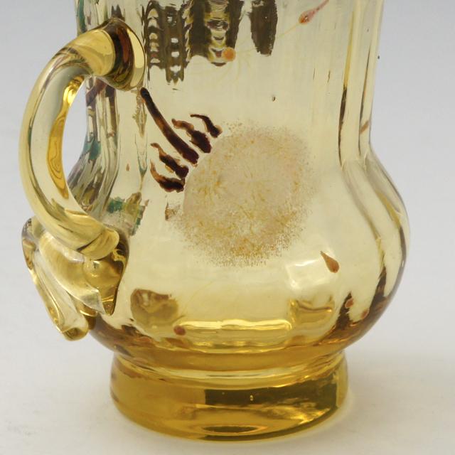 アールヌーヴォー「タンポポ文 小酒盃 高さ6.3cm」