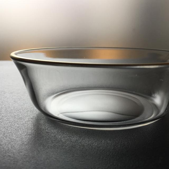 グラスウェア「金彩 小鉢&小皿 6客セット」