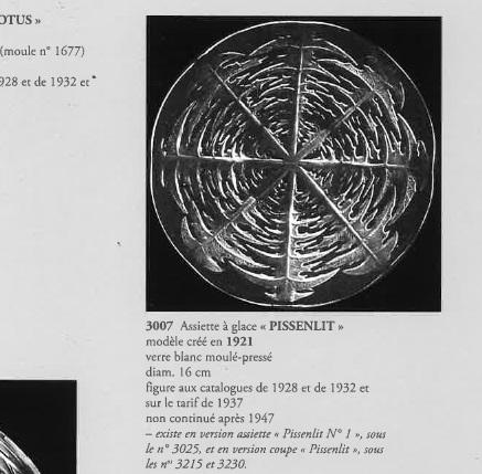 グラスウェア「皿 タンポポ 直径16.5cm」