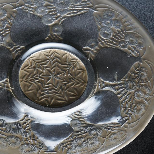 グラスウェア「皿 ベース 直径17cm」