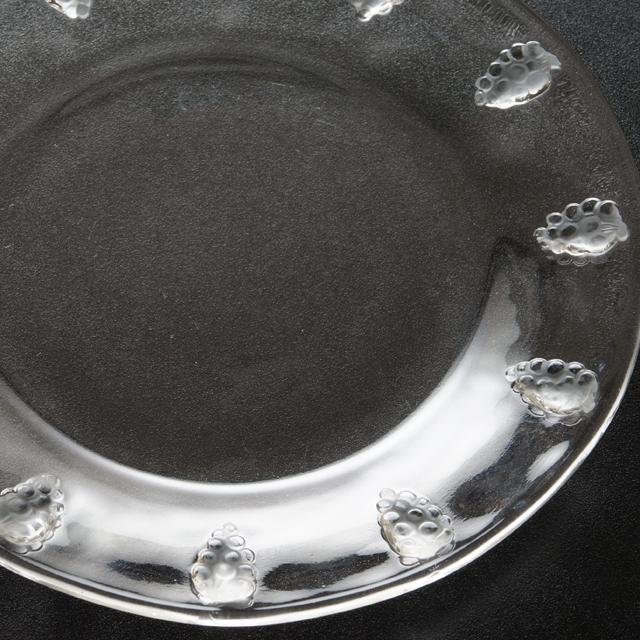 グラスウェア「皿 コートドール 直径18.8cm」
