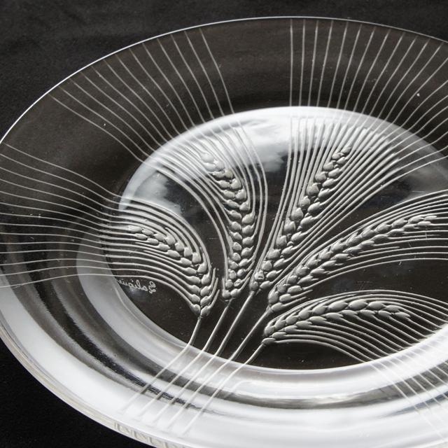 グラスウェア「皿 ヴェルヌイユ 直径19.5cm」