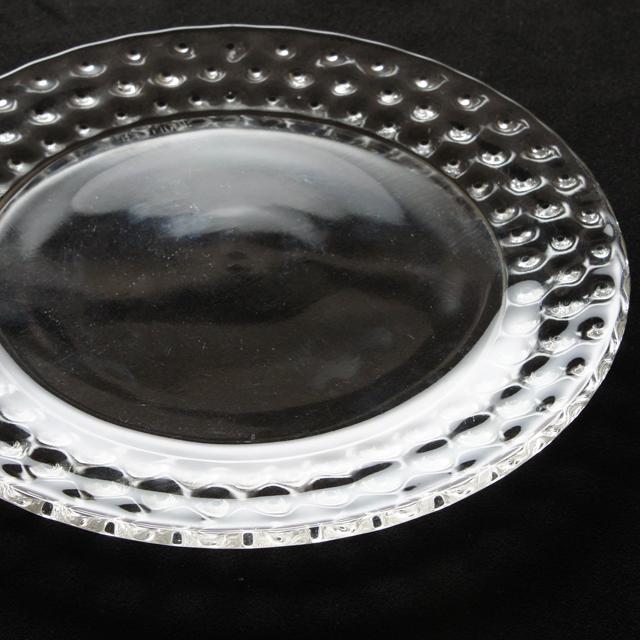 グラスウェア「皿 カクタス 直径16.5cm」
