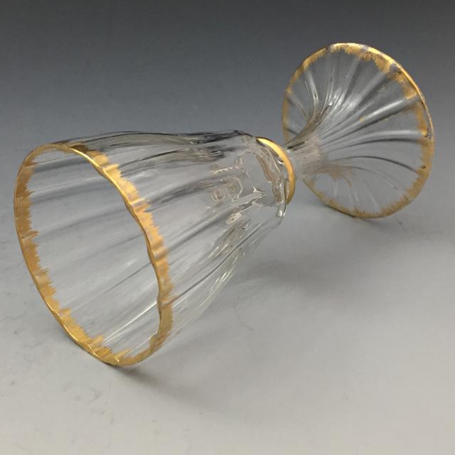 グラスウェア「Damon × Daum ワイングラス 高さ12cm(容量約70ml)」